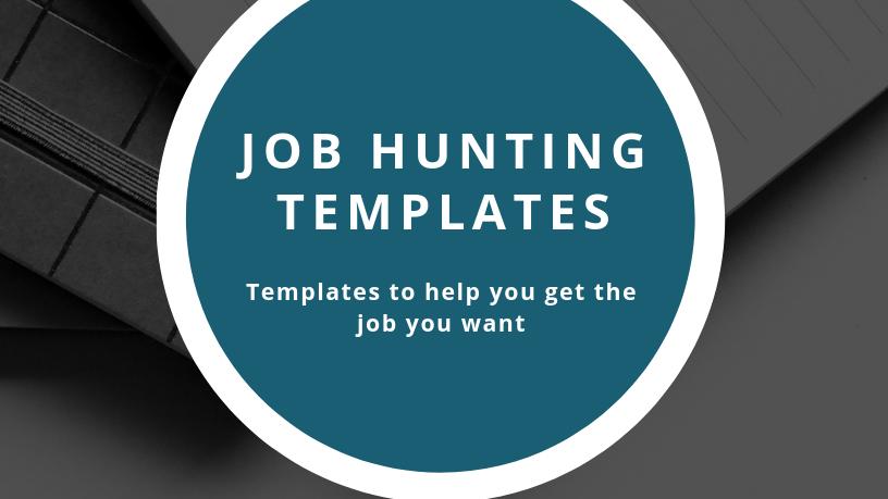 Job Hunting Templates