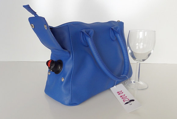 JWB-003 Fully Insulated  Wine Bag Blue