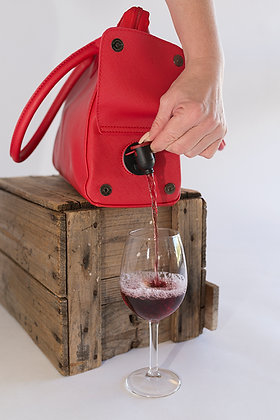 WBB-006 Fully Wine Bladder Bag Red
