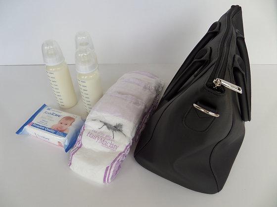 JCB-001 - Baby Bottle Bag Black