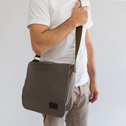 MB-003 Insulated Man Bag Grey