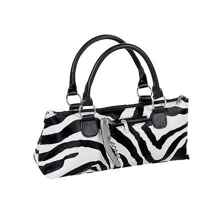 3024-ZB - Fully Insulated Wine Clutch Bag Zebra