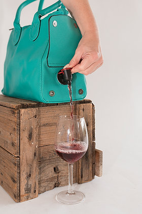 WBB-008 Fully Insulated Wine  Bag Aqua