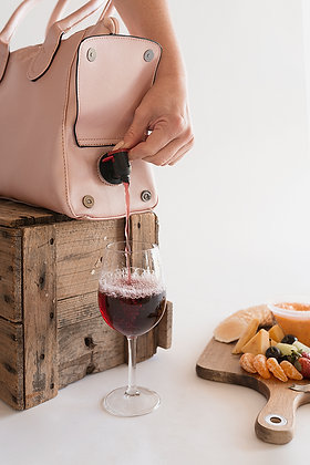 WBB-009 Fully Insulated Wine bag Rose Gold