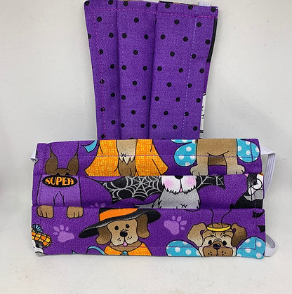 Halloween Pups - Adult and Kid sizes