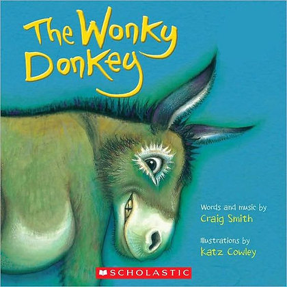 Wonky Donkey board book