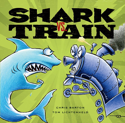 Shark vs. Train - Hardback