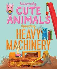 Extremely Cut Animals Operating Heavy Machinery