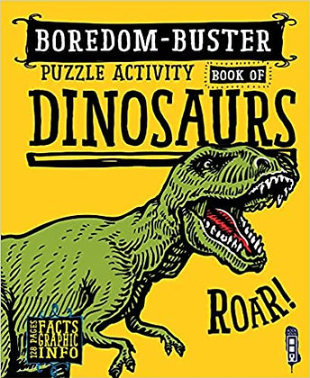 Boredom Buster Puzzle Book - Dinosaurs