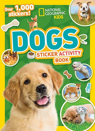 Dogs Sticker Activity Book