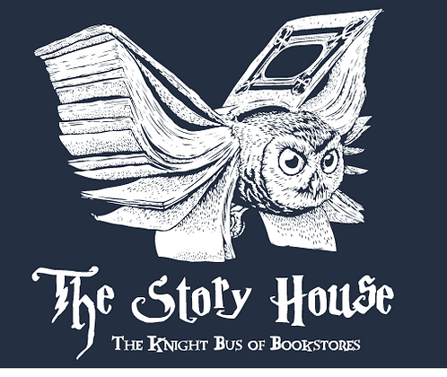 Story House T-Shirt - the Knight Bus of Bookstores