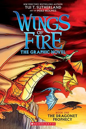 Dragonet Prophecy - Graphic Novel (Wings of Fire)