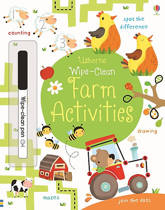 Wipe Clean Farm Activities