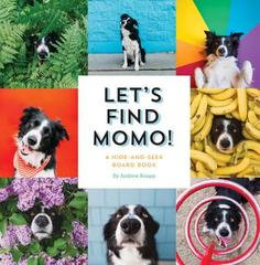 Let's Find Momo!  Board Book