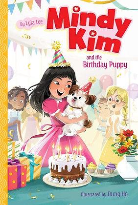 Mindy Kim and Birthday Puppy by Lyla Lee