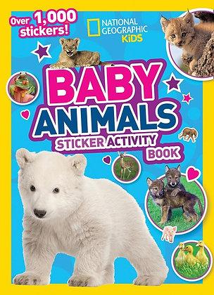 Baby Animals Sticker Activity Book