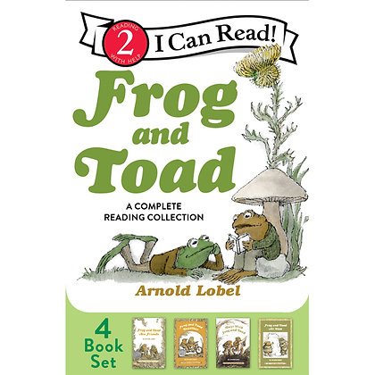 Frog and Toad: A Complete Reading Collection: Frog and Toad Are Friends, Frog an