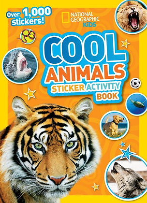 Cool Animal Sticker Activity Book