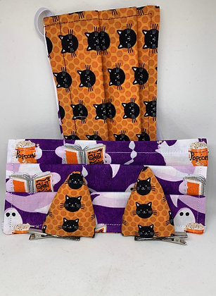 Ghost Stories & Cats with Optional Clip-on Ears - Adult and Kid Sizes