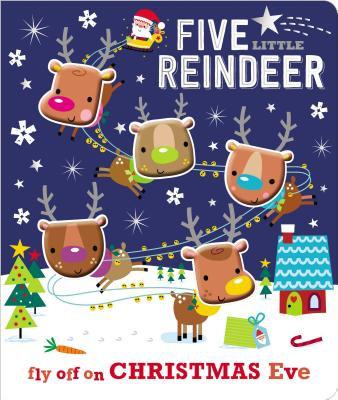 Board Book - 5 Little Reindeer