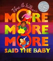 More, More, More said the Baby - Board Book