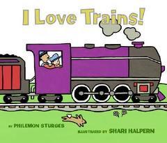 I Love Trains BoardBook
