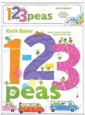 1-2-3 Peas - Book & CD