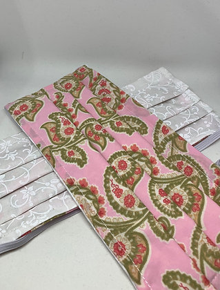 Pink Paisley - Adult Medium and Large and Kids