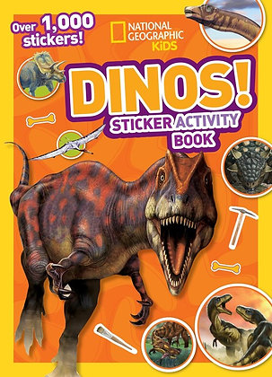 Dinos! Sticker Activity Book