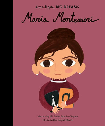 Maria Montessori Board Book (Ms. Esmeralda's wish list)