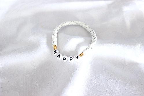 Bracelet Heishi Happy