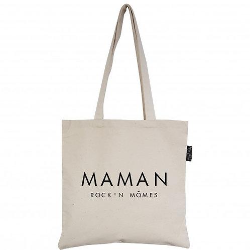 "Tote bag ""Maman Rock'n Mômes"""