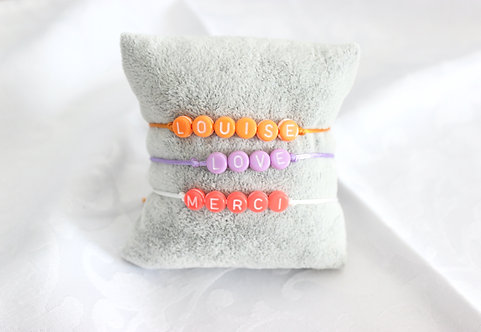 Bracelet Bulles Fluo