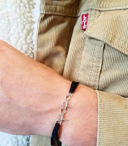 Bracelet Lettering Homme