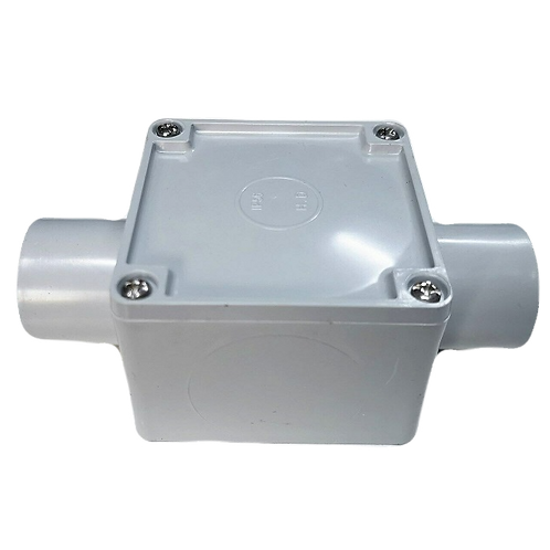 32mm Two Way Square Junction Box(77*77*54)