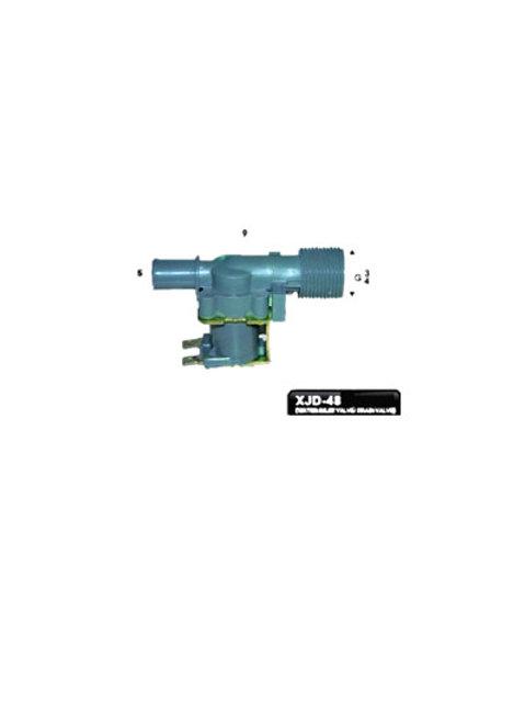 XJD-48 DISHWASHER WATER INLET / DRAIN VALVE 10L/m AC240V