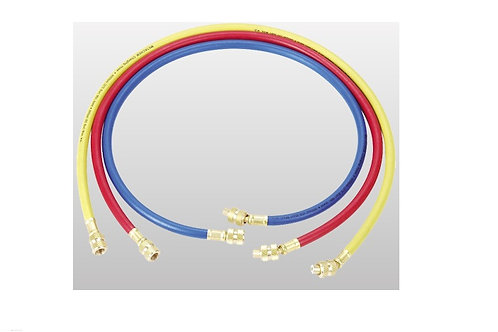 "R410a HIGH PRESSURE CHARGING HOSE  36""(90CM) CT-336-RYB-H"