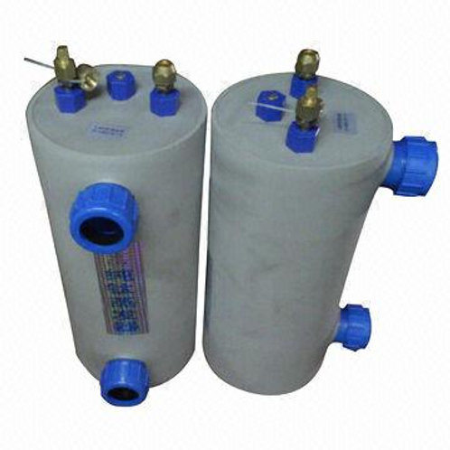 Titanium tube evaporator 1HP