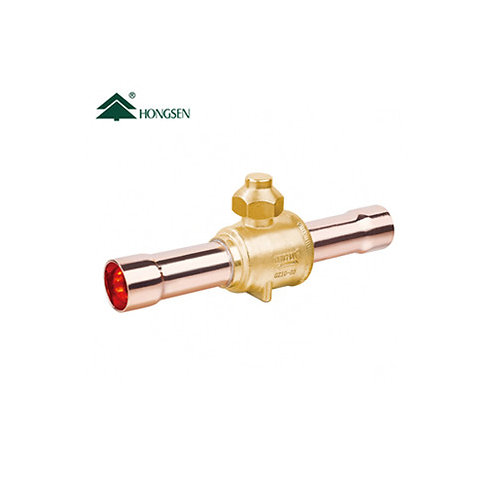 """GBC ball valve 1/4"""" for air conditioner"""