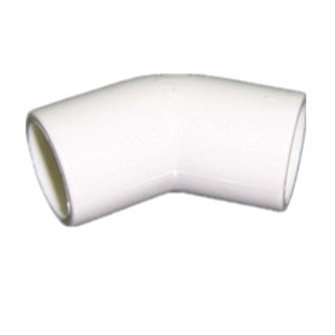 PVC Air Cond & Refrig 45º Equal Elbow 25mm