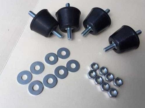 Antivibration Damper AG45(4 pcs) for air-con/generators/ eledctric motors