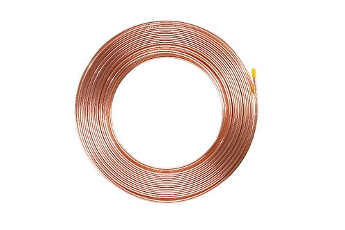 "1/4"" x 0.81mm x 5m COPPER PANCAKE COIL AS/NZS 1571"