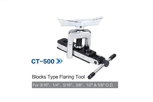 CT-500 BLOCKS TYPE  FLARING TOOL