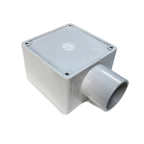 32mm One Way Square Junction Box (77*77*54)