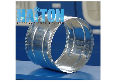 JC 200mm GALVANIZED ROUND JOINING COLLAR
