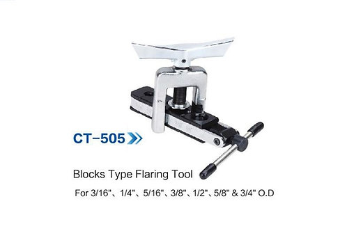 CT-505 BLOCKS TYPE  FLARING TOOL