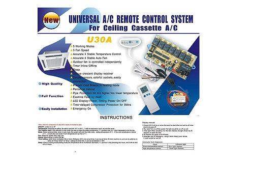 QD-U30A  UNIVERSAL  A/C REMOTE SYSTEM