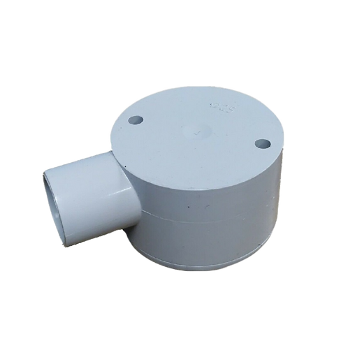 25mm One Way Shallow Junction Box