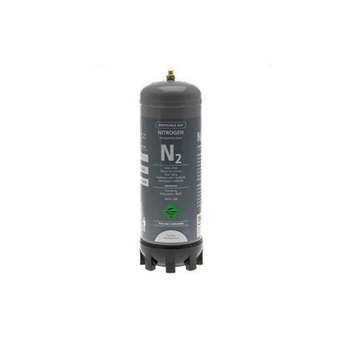 Disposable Gas Cylinder 100% Nitrogen 2.2 Litres Grey Cylinder Model:GTNI2