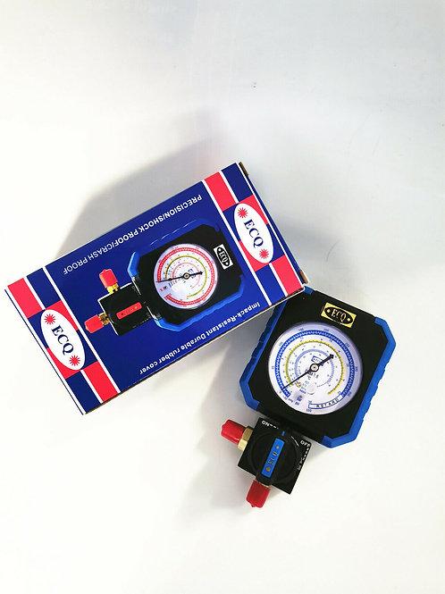 Single Low Side Pressure Gauge E-503L R22/R134A/R410A/R404A